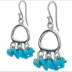 Pangea Mines Turquoise Earrings MSRP $399
